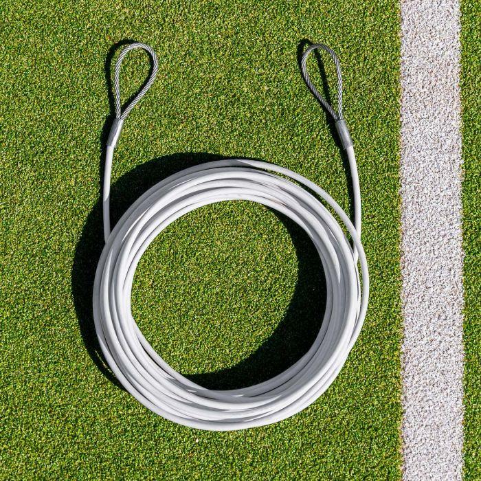 Double Loop Tennis Net Headline Wire Cable | Net World Sports