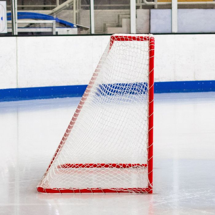 Freestanding Regulation Ice Hockey Net   Net World Sports