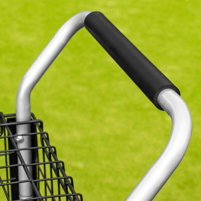 Tennis Ball Coaching Trolley With Foam Handle | Net World Sports