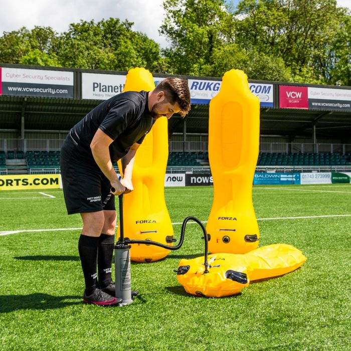Easy Pump Inflatable Football Freekick Mannequin | Net World Sports