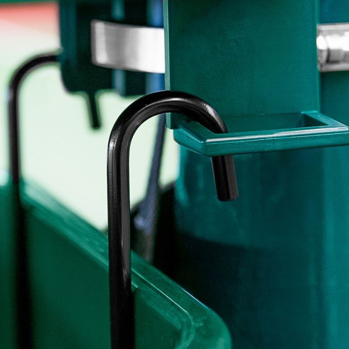 Easy Hook Plastic Bin For Your Tennis Court | Net World Sports