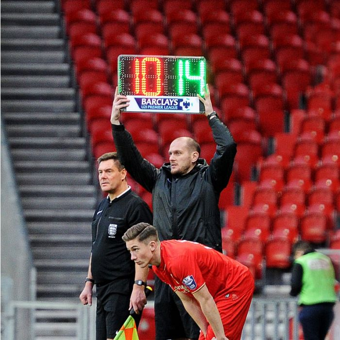Professional Standard Soccer Substitution Board