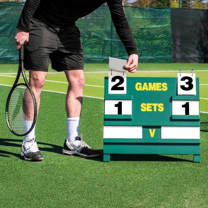 Simple Tennis Scoring Sets Games & Name Cards | Net World Sports