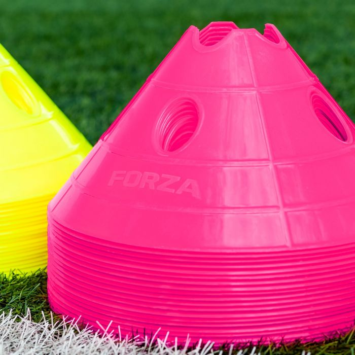 Fluro Pink Superdome Training Marker Cones