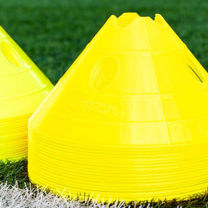 Fluro Yellow Superdome Training Marker Cones