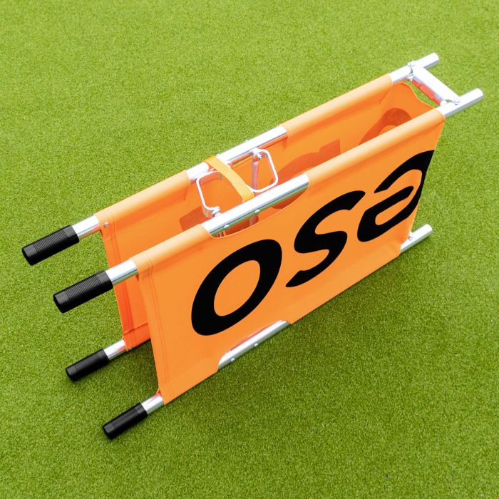 Orange Foldable Aluminium Stretcher