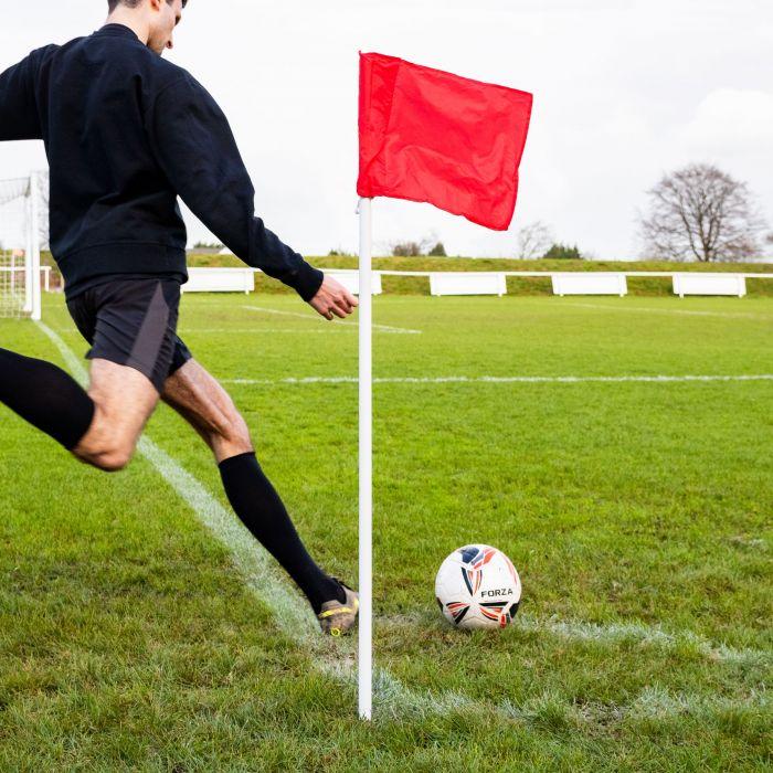Football Corner Flag And Poles