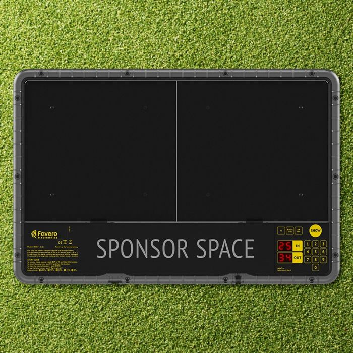 Electronic Football Substitution Board