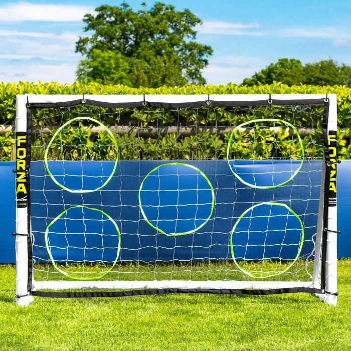 6 x 4 Soccer Goal Target Sheet | 5 Hole Target Sheets