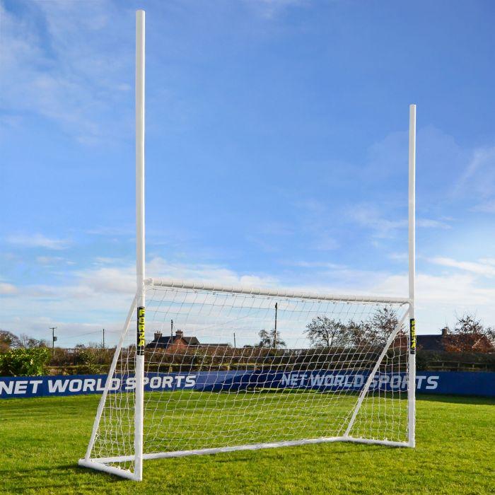12 x 6 FORZA Garden Combi Goal For Rugby & Football | Net World Sports