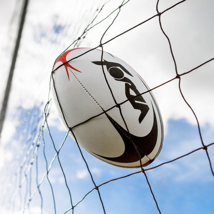 Rugby Ball & Stopping Net
