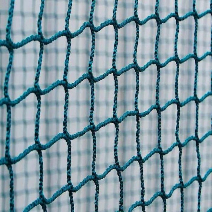 Green Braided Hockey Goal Nets