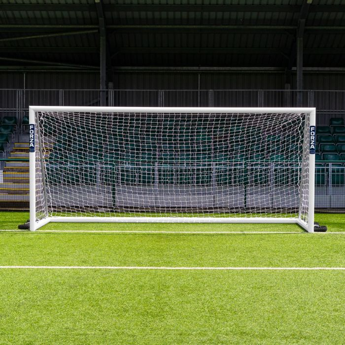 16 x 7 FORZA Alu110 Freestanding Football Goals