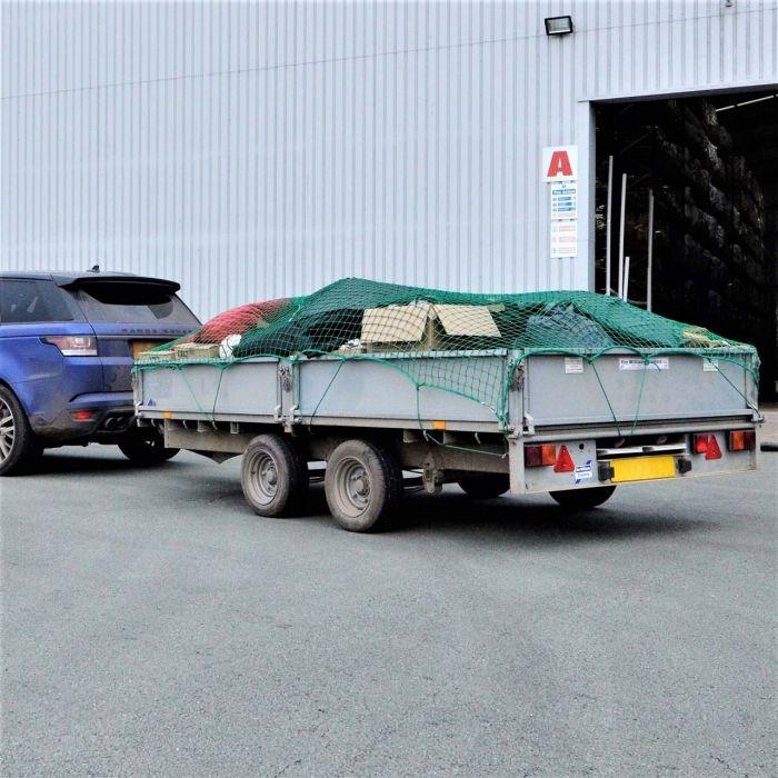 Trailer Nets [Ultra Heavy Duty] | Cargo Nets | Skip Nets | Net World Sports