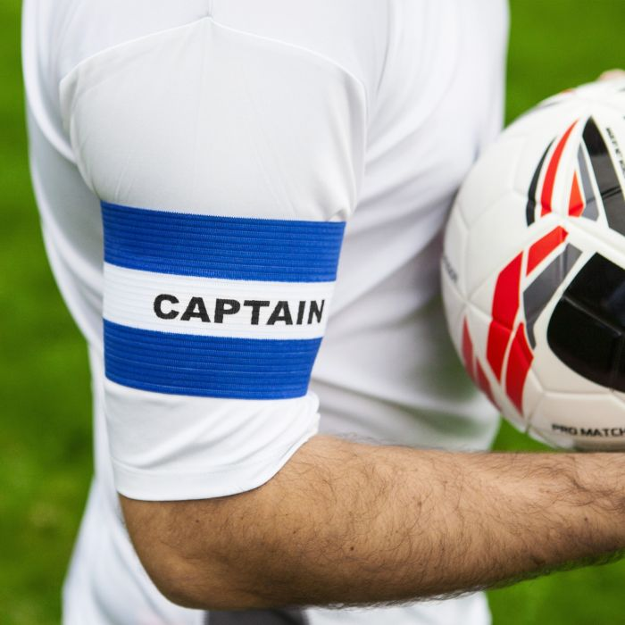 Best Blue Football Armbands for Captains