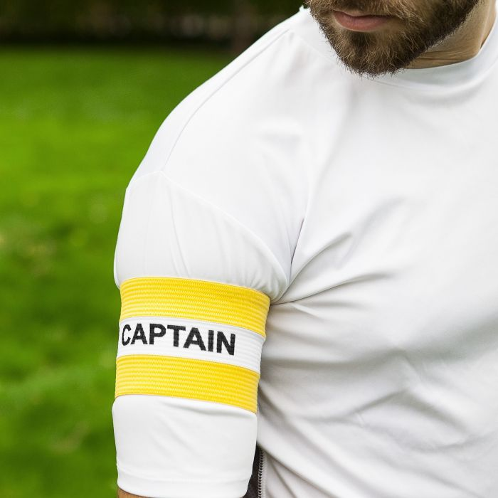 Yellow Captains Armbands