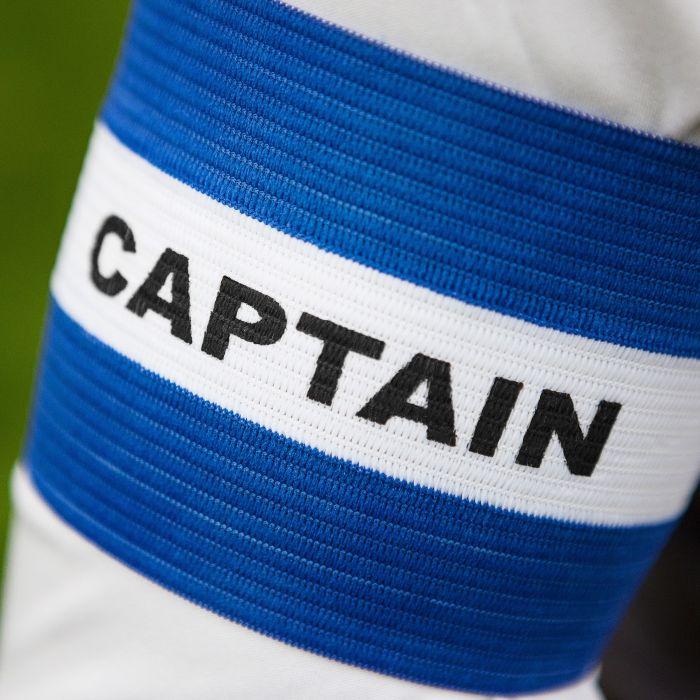 Blue Football Captains Armbands for Sale