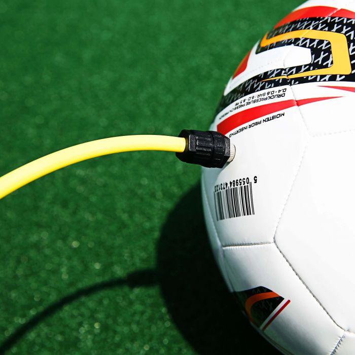 Football Ball Pump For All Footballs, Ball Pump with Gauge