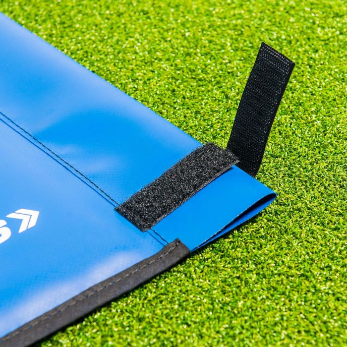 Blue Rugby Foam PVC Corner Flag For Rugby Pitches