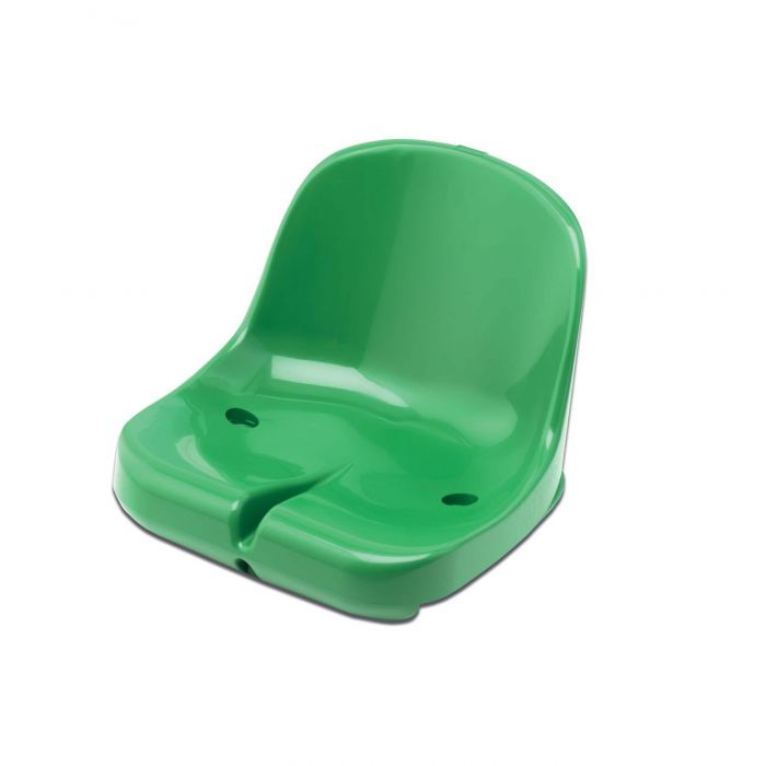 Green Moulded HDPP Seats for Sports Dugout & Shelters | Net World Sports