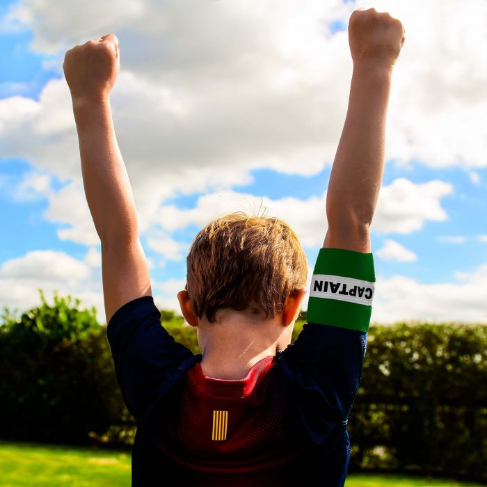 Green Captain's Armband for Kids