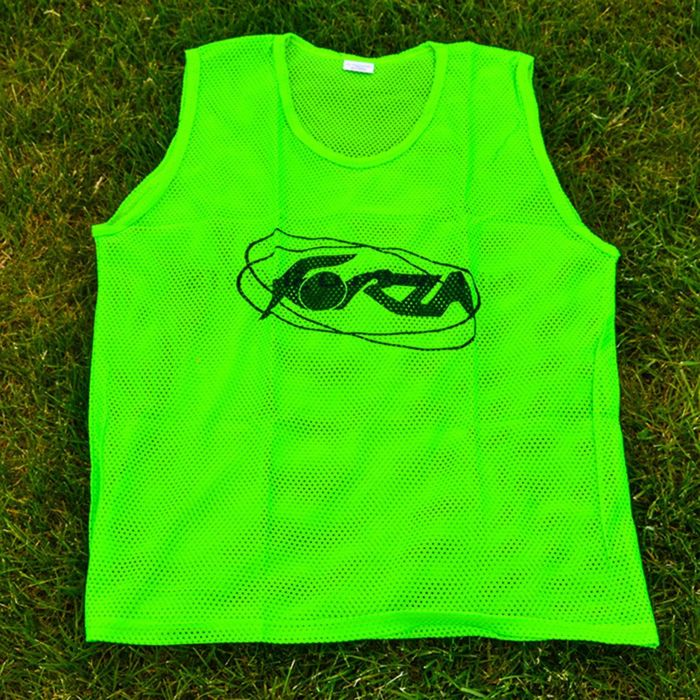 Green Soccer Training Vests
