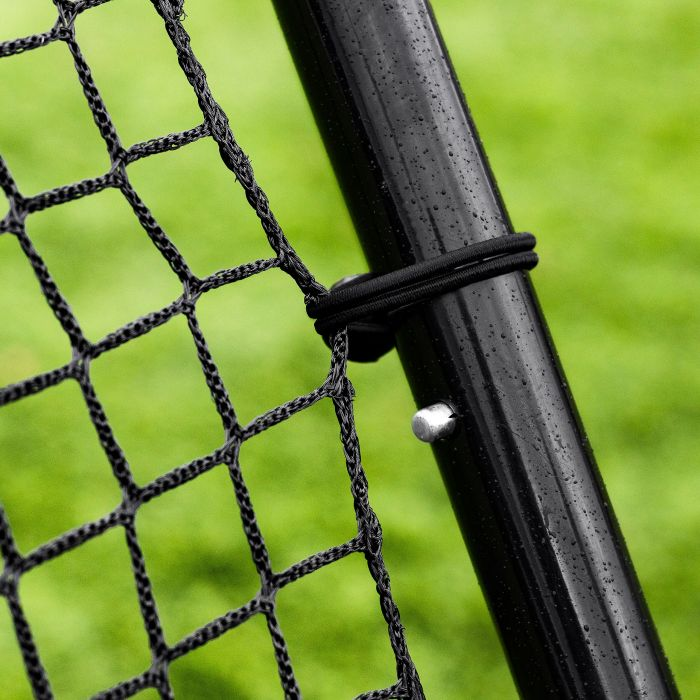 Dual-Angle Soccer Rebound Net