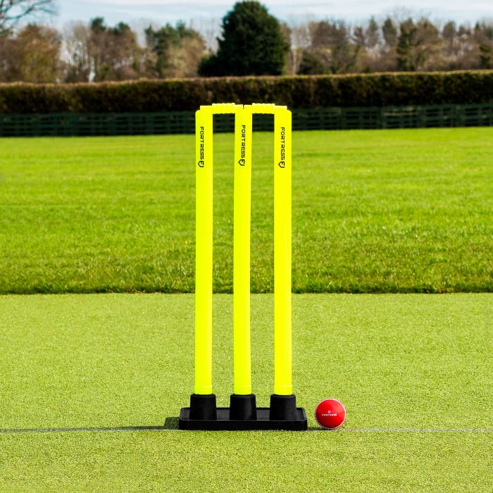 Regulation Senior Size Plastic Cricket Stumps & Bails | Net World Sports