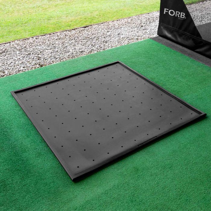 FORB Rubber Base For Golf Hitting Mats | Net World Sports