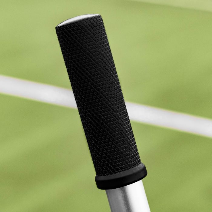 Rubber Grip Handle Anti-Wobble Application | Net World Sports