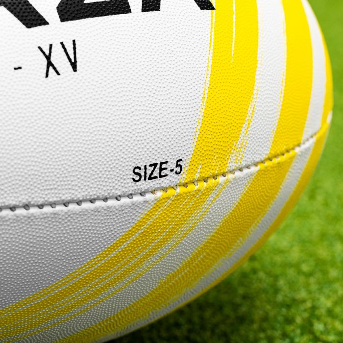 Rugby ball available in size 3, 4 and 5
