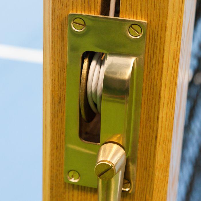 High-Quality Brass Winder Mechanism For Net Tensioning | Net World Sports