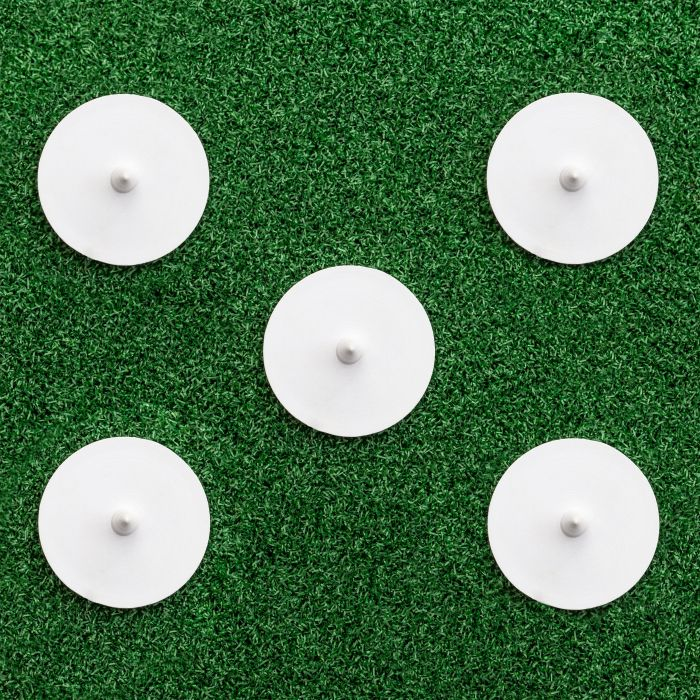 Pack Of 5 Bowlers Run-Up Disc Markers | Net World Sports