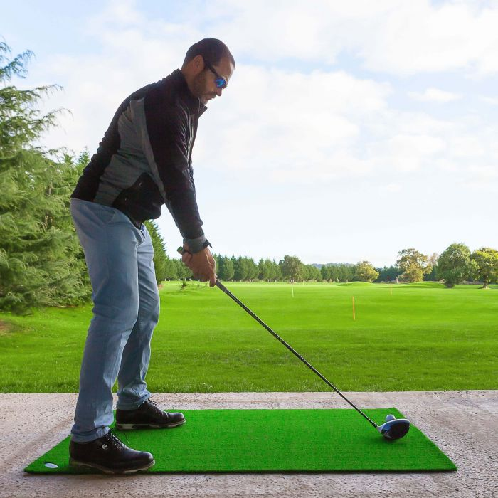 Driving Range Practice Mat | Excellent Stability During Swing | Net World Sports