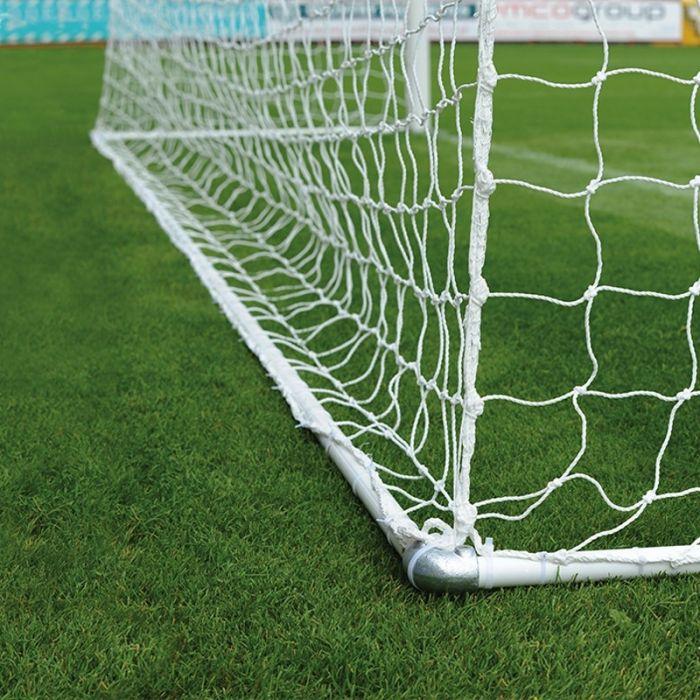 Hinged Bottom Bar for Stadium Goals