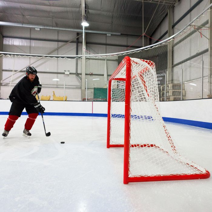 Professional Ice Hockey Goal & Net For Competition | Net World Sports