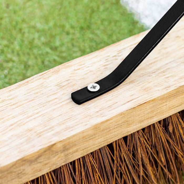 Treated Wood Tennis Court Brush | Net World Sports