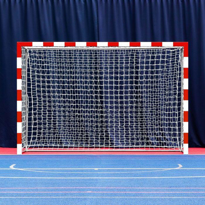 Red And White Handball Goals