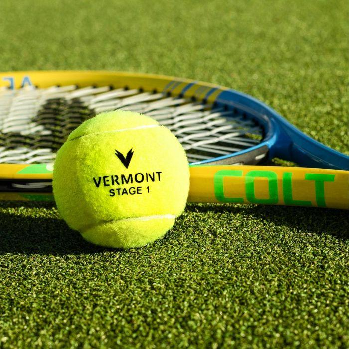 Pressureless Stage 1 Kids Tennis Balls | Net World Sports