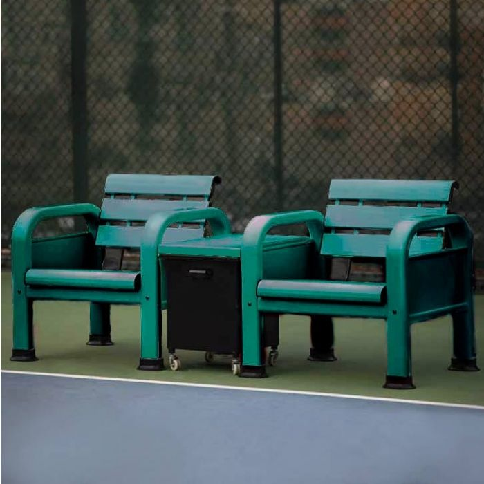 Professional Courtside Chairs & Table Set | Net World Sports