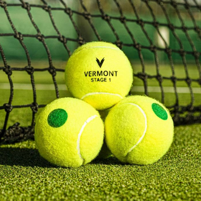 Bucket Of Mini Green Tennis Balls | Net World Sports