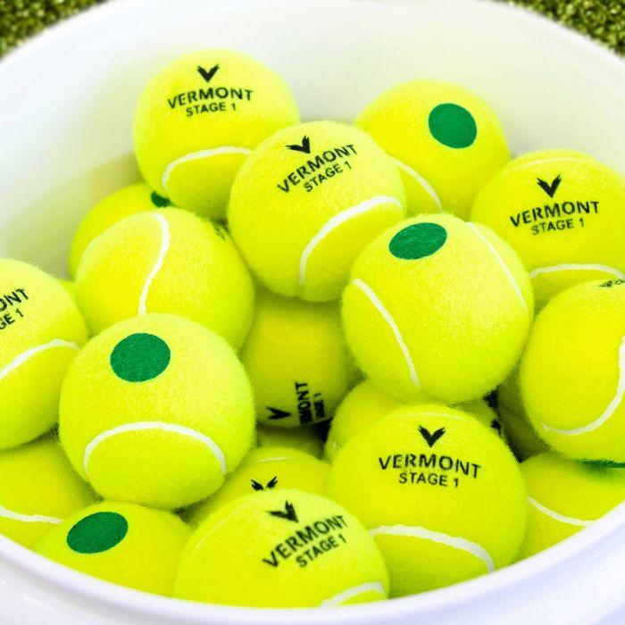 All Court Surface Mini Green Tennis Balls | Net World Sports