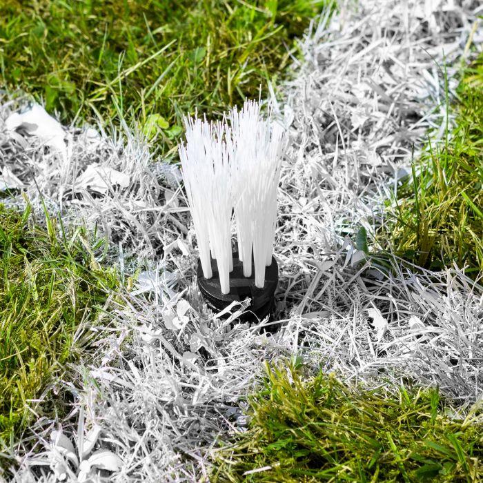 White Grass Marking Turfs For Groundsman