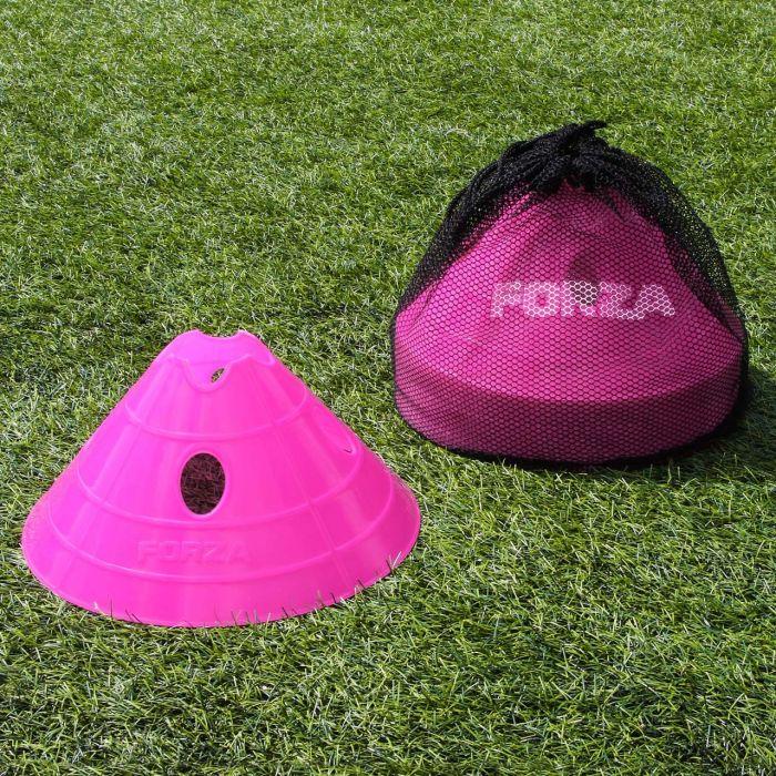 Pink FORZA Mega Cone & Bag