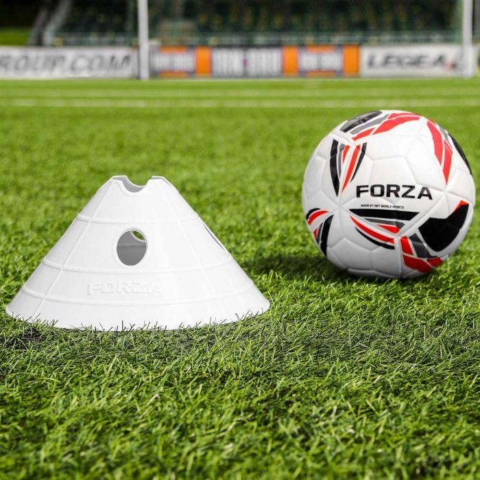 White Football FORZA Mega Cone And Bag
