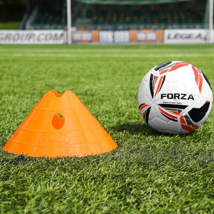 Orange Football FORZA Mega Cone
