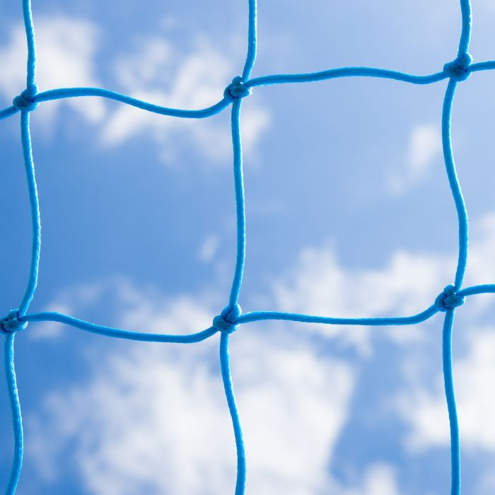 Light Blue Braided Football Stadium/Box Nets