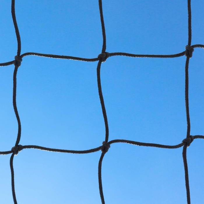Black Braided Football Stadium/Box Nets