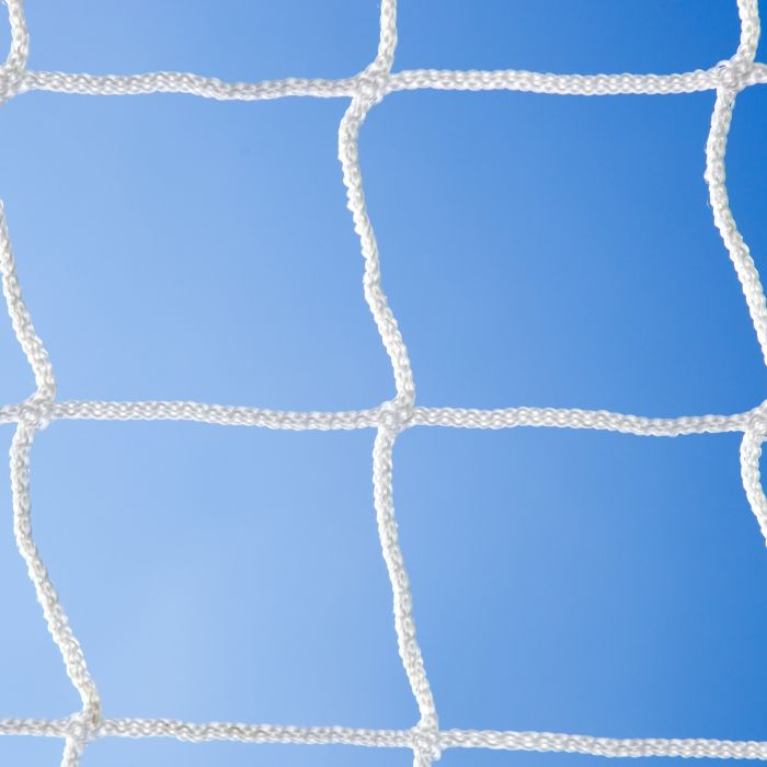 White Braided Football Stadium Goal Net