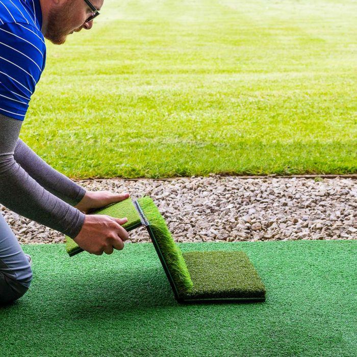 Three Section Golf Hitting Mat